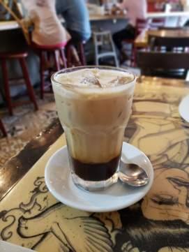Mmmmmm. Post-run latte.