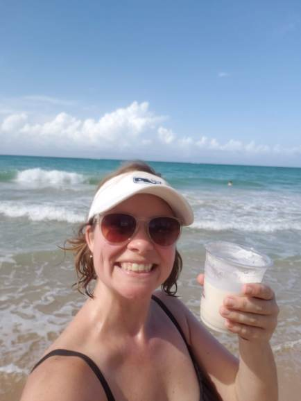 First Pina Colada of the trip!
