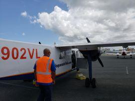 Boarding has begun...