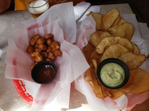 Fried Cheese and Beer Chips!
